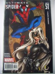 Ultimate Spider-man #51 Black Cat